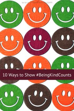 A list of easy ways to show kindness to others that will not cost you a dime. #BeingKindCounts #SMOCK #InspiredBN