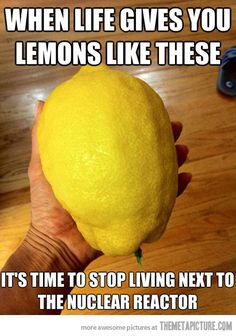 When life gives you these lemons…
