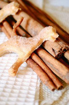 Cinnamon and Sugar Pie Crust Cookies