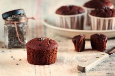 Chocolate Lavender Cupcakes by pastryaffair, via Flickr