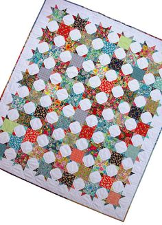 Red Pepper Quilts: Bloomsbury Gardens ~ A Finished Quilt $240