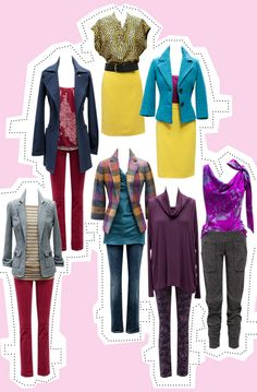 How to wear color - CAbi Fall '12
