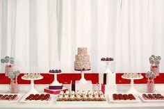 Sprinkles dessert cakes, candi, dessert tabl, dessert party, sprinkl cake, dessert featur, cake designs, dessert station, dessert bars