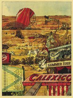 GigPosters.com - Calexico
