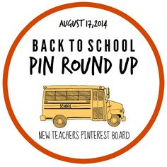 A round up of back-to-school teaching ideas! #newteachers #backtoschool