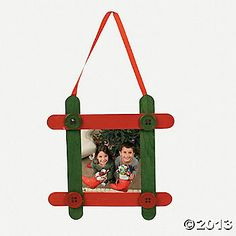 Craft Stick Photo Frame Ornament Craft Kit
