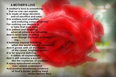 poem helen steiner, happi mother, mothers day, motherson quot, sons, poem, steiner rice, mum betti, favorit quot
