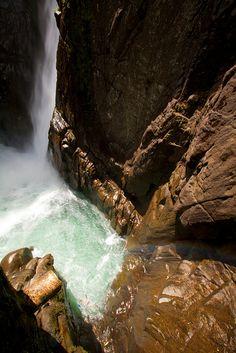 Pailón del Diablo Waterfall in Ecuador