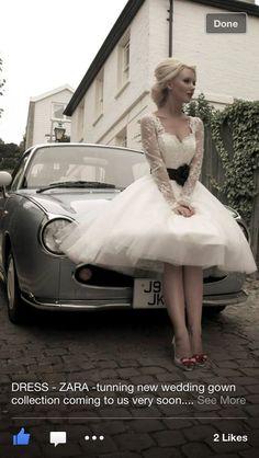 50's wedding dress