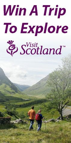 SORRY, LINK OUT OF ORDER.  Win a Trip to Explore Scotland :: You and three friends could be the lucky winners of an exciting getaway to Scotland, for a week packed full of fun activities and adventures.