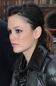 Rachel Bilson rocks a chic ponytail