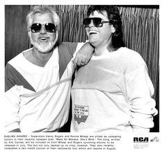 Kenny Rogers & Ronnie Milsap 1987 by Retro America, via Flickr