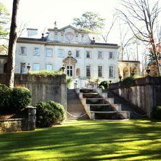 Atlanta History Center - The Swan House
