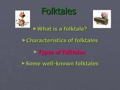 """PowerPoint """"Folktales"""""""