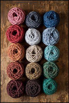 Shelter yarn by Brooklyn Tweed