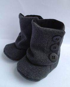 Lil Boots by BoogerBabyBoutique on Etsy My friend makes the best baby stuff. Look her up all.