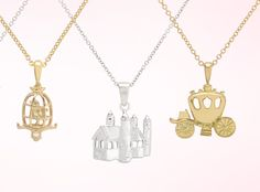 New high end fairy tale keepsake jewelry. We know a few girls who would not be unhappy with these.