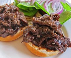Comfort Food: Teri Beef Sandwiches
