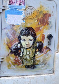Street Art, Rome - Alice Pasquini.