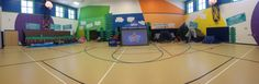 This gym received a Camp High Five makeover! LOVE these new ideas!