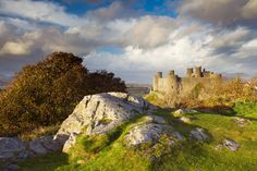 "According to UNESCO ""the castles and fortified towns of Gwynedd are the finest examples of late 13th century and early 14th century military architecture in Europe"". This is one of the four castles - Harlech Castle"