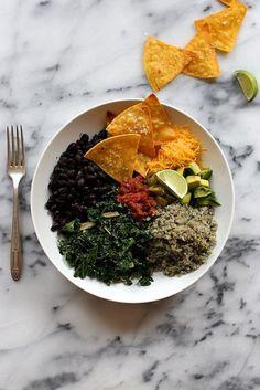 Delicious! Cauliflower Rice Burrito Bowl