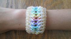 Rainbow Loom Lacelet Bracelet (Original Design)
