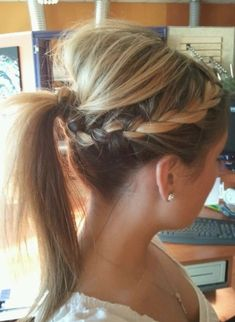 10 Braids, Ponytails Hairstyles for Long Hair   PoPular Haircuts