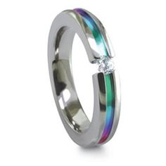 Edward Mirell Multicolored Titanium