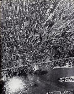 Midtown Manhattan, 1941 by Andreas Feininger