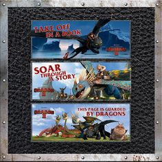 Soar through a story with free printable #HTTYD2 bookmarks! http://goo.gl/t2dTUd