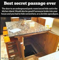 Wow great idea!  Hidden passage way to secret hiding spot.