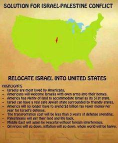 La solución al problema israelopalestino