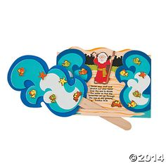 Parting of the Red Sea Craft Kit, Novelty Crafts, Crafts for Kids, Craft Hobby Supplies - Oriental Trading parting the red sea craft, kid church, craft kits, sunday school crafts, sea crafts, kid crafts, preschool
