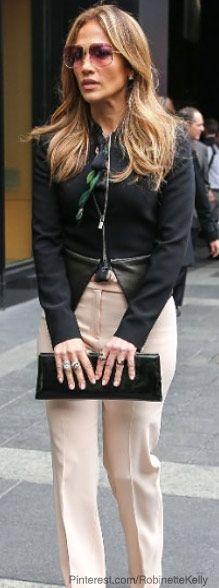 Street Style | Jennifer Lopez