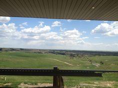 Miletta Vista Winery view from St.Paul, Nebraska!
