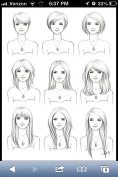 Hairstyles for growing out hair...because im sure ill grow it out again one day......and then chop it off ;)