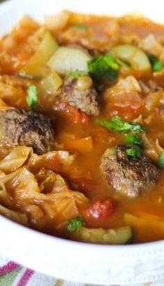 Sicilian Meatball Soup (gf bread crumbs)