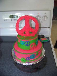 My Niece's 13th Birthday Cake.