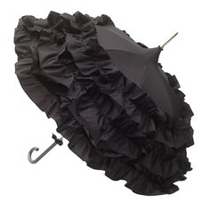 Ha - I had this fascination with umbrellas for a while. Just seems appropriate to go into my pinterest umbrella collection. (Also, the ruffle would match my purse so well, hehe)