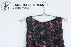 Lace Back Dress –Vogue V8901 — Sew DIY