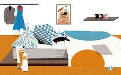 Home, digital illustration by art student Diyou Wu