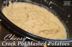 If you haven't tried Crock Pot Mashed Potatoes then you will want to check out my recipe for crock pot mashed potatoes that is SO SIMPLE.