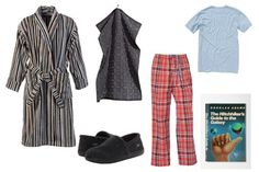 Four Simple Literary Costume Ideas For Halloween | Quirk Books : Publishers & Seekers of All Things Awesome...Arthur Dent, the perfect opportunity to dress in your pajamas at work, if you're allowed to .  RC