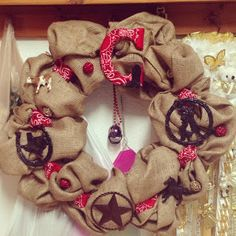Western Themed wreath