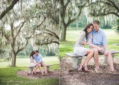 A sweet Bok Tower Garden's engagement session | Photography: Caroline Maxcy Photography (www.carolinemaxcy.com) | Hair and Makeup: Michelle Trinder Cathey | Venue: Bok Tower Gardens (http://boktowergardens.org)