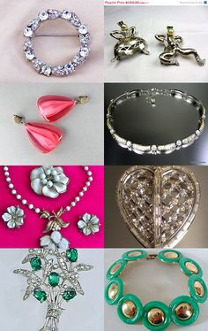 Trifari - a VJSE Group Team Treasury: vintage Trifari jewelry collection