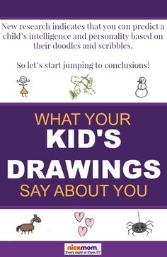 What Your Kid's Drawings Say About You - some unfortunate, funny parenting truths from @RobynHTV on @NickMom #kids #artwork