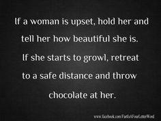 throw chocol, chocolate humor, laugh, chocolates, giggl, funni, hilari, quot, advic