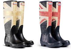 Hunter hace honor a su herencia británica con nuevo diseño de botas de agua